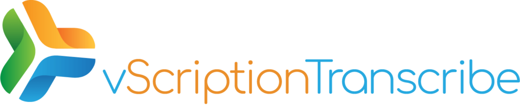 vScription Transcribe Logo
